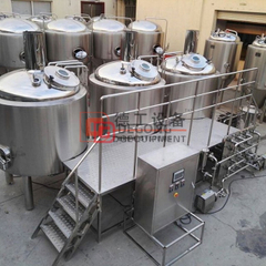 2000L Custom Craft Stainless Sreel Brewhouse System مع شهادة CE و TUV للبيع