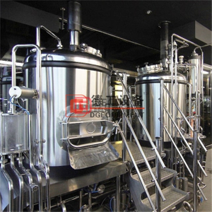 5BBL Craft Beer Brewery Stailess Steel Micro Beer Brew Equipment مع التدفئة الكهربائية والبخارية